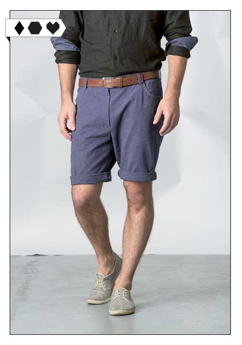 SLORIS_Glimpse_Shorts_Blau