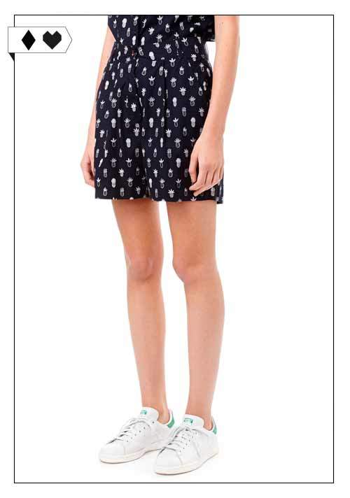 Chinti and Parker / Poplin Pineapple Shorts