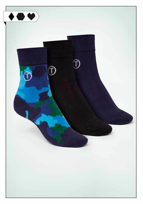 Thokk Thokk / 3er Set Socken