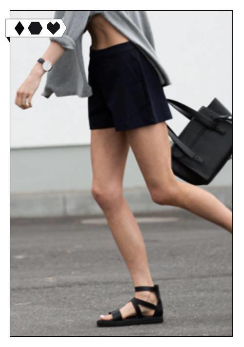 Jan n June Shorts Fair Fashion Slow Fashion sloris Modeblog Holly Shirts und Lena Knit