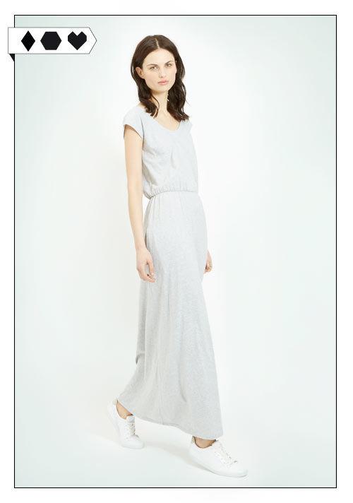 Maxi Kleid SLORIS_People-Tree-Maxi-Dress-Organic-Cotton-grau-big