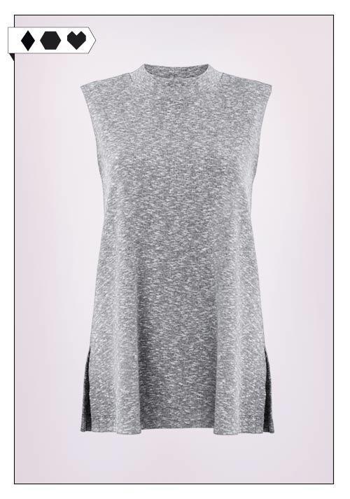 Jan n June Top SLORIS_Jan-n-June_Fair-Fashion-Rib-Top-grau-Grey-vegan-eco-social