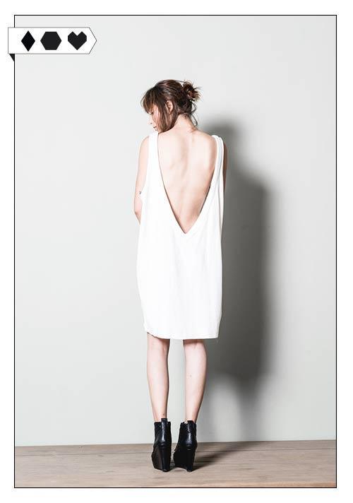 Jungle Folk Dress Kleid Victoria weiß Organic Cotton Bio Baumwolle Fair hergestellt Slow Fashion Dress auf sloris.de