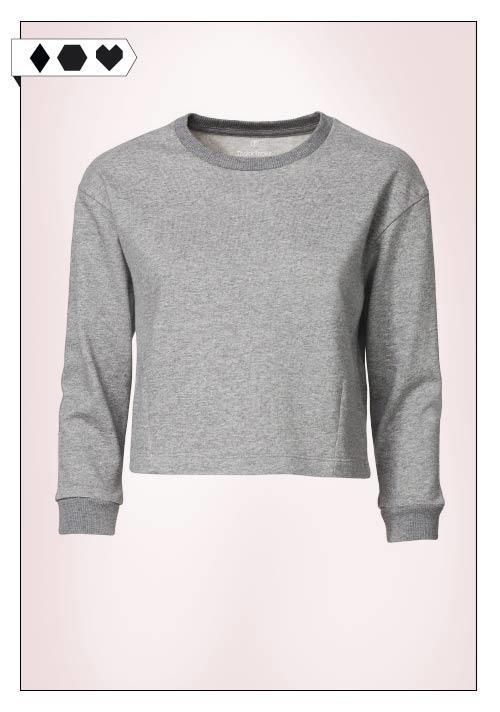 Thokk Thokk Fair Fashion Organic Cotton Cropped Sweatshirt auf dem Slow Fasjionblog Sloris.