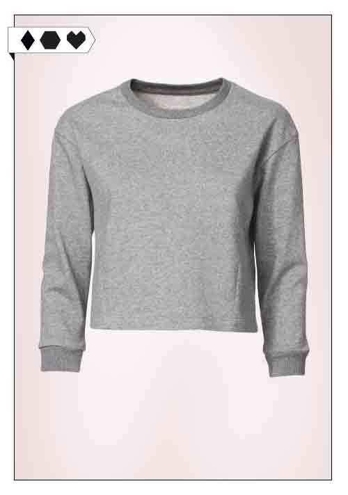 Thokk Thokk / Cropped Sweatshirt