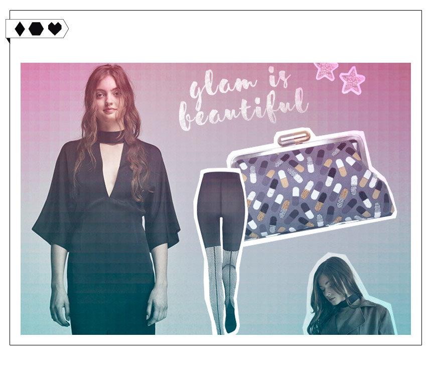 Fair Fashion Christmas Look : Glam is beautiful!