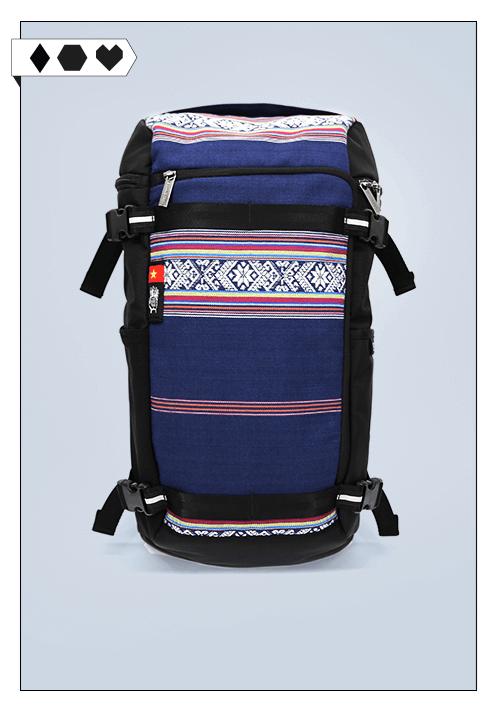 Ethnotek Rucksack SLORIS-Ethnotek-Rucksack-Backpack-Vietnam-Slow-Fashion-Faire-Mode-Backpack
