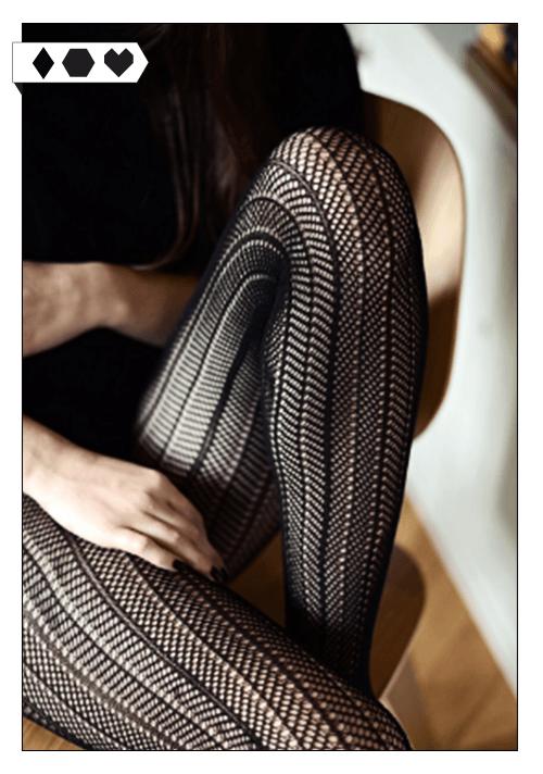 Swedish Stockings / Fishnet Tights SLORIS-fishnet-tights-swedish-stockings-eco-netzstrumpfhose-vegan-fair