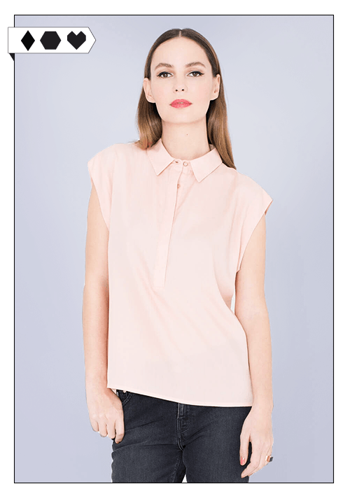 Miss Green / Bluse Tulay Rose