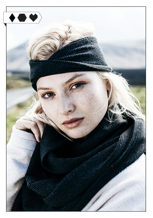 Sloris Lovjoi Schal Olaf Organic Cotton Headband Hop sloris-lovjoi-stirnband-schal-cotton