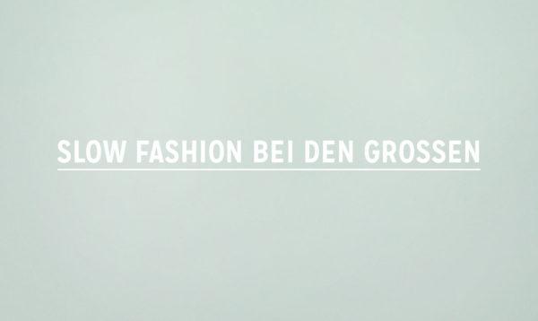 Slow Fashion bei den Grossen Fair Fashion Zalando About You asos sarenza mytheresa slow-fashion-bei-den-grossen