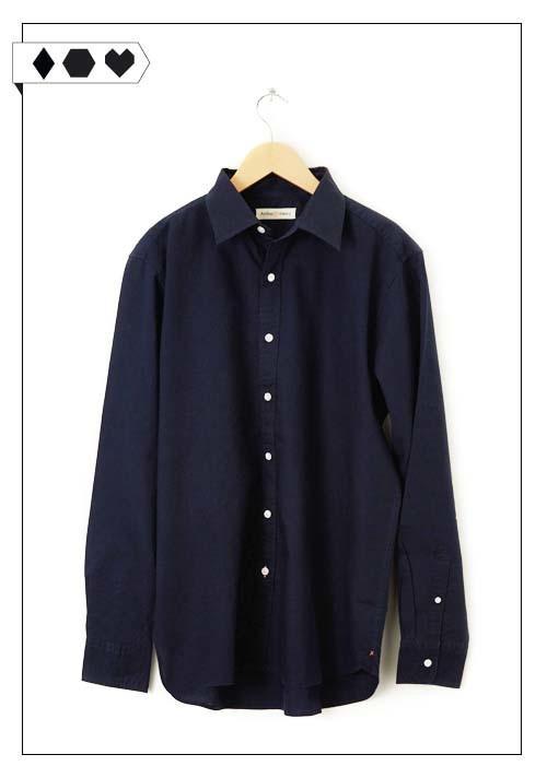 SLORIS_Arthur_Henry_Navy_Shirt