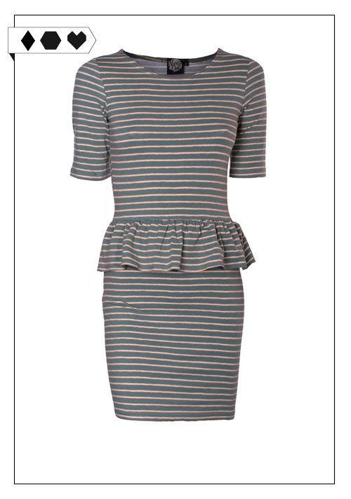 SLORIS_Nancy_Dee_Streifen_Kleid_Holly_Peplum_Dress