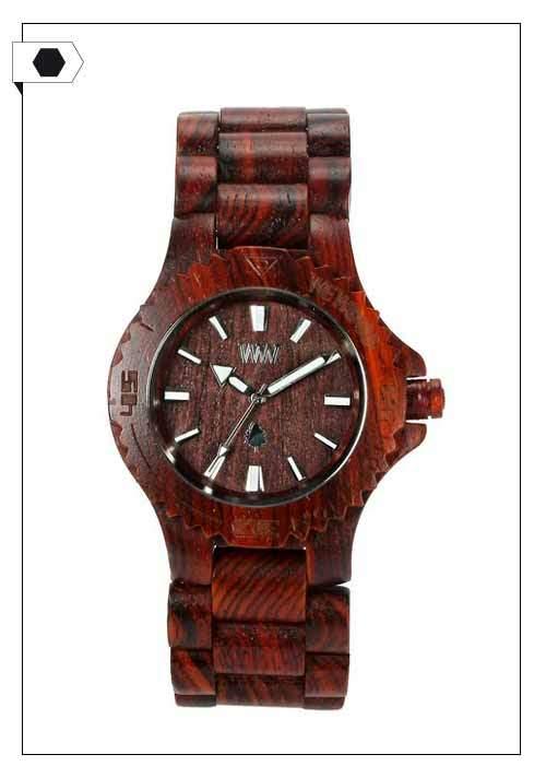 WEWOOD / Date Brown Uhr