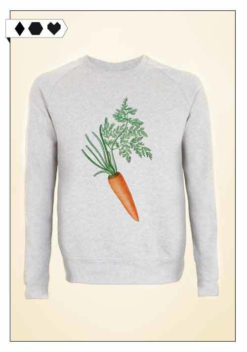 Ultra Tee / Carrot Sweatshirt