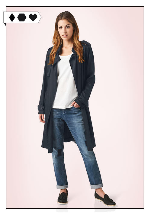 Hessnatur Trenchcoat Sloris Fair Fashion Mantel Trenchcoat faire Mode nachhaltig