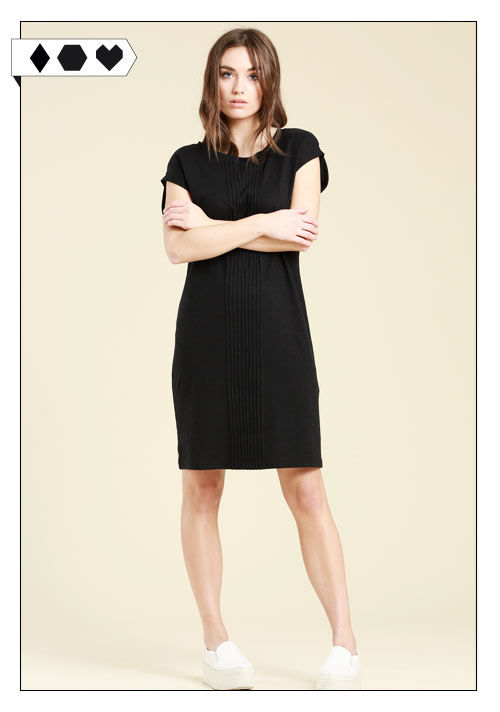 Lanius Sommerkleid schwarz auf dem Modeblog Sloris