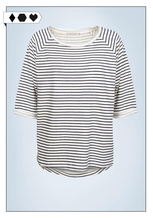 Armedangels Sweatshirt Streifen Sloris Fair Fashion Slow Fashion Armed angels Stripes Sweatshirt