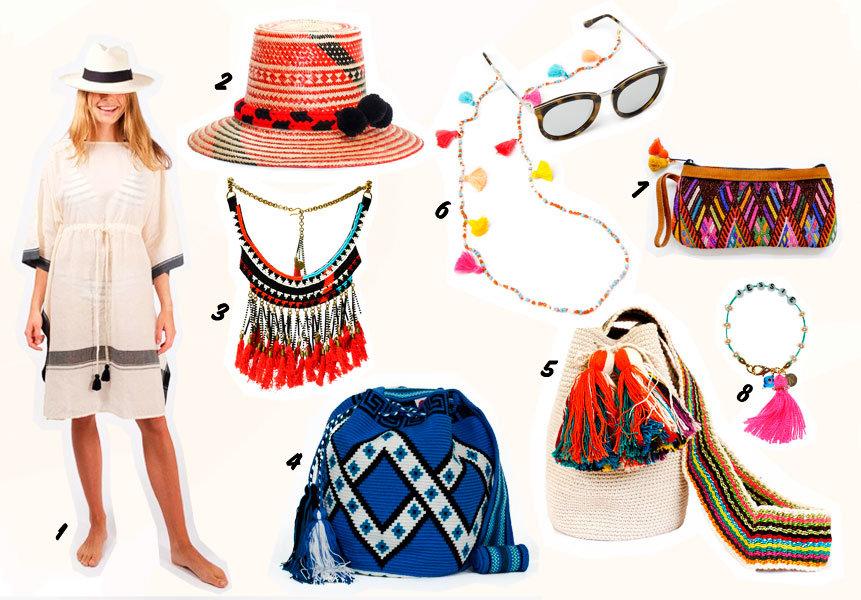 Fashion Trend Tassel: Quasten und Pompoms im Sommer 2016 gibt's auch von Fair Fashion Brands!