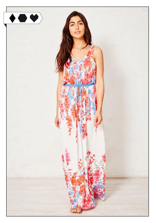 Braintree Clothing Maxi Dress Fair Fashion Organic Cotton Bamboo Blumen Flower Muster