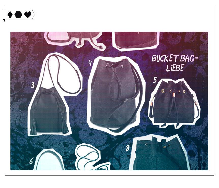 Bucket Bags / 8 Fair Fashion Taschen für den Herbst
