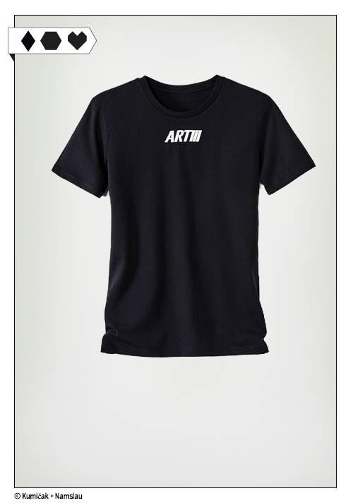 Art III Solidari-t sloris-fabian-hart-artiii-artikel-drei-artdrei-charity-shirt-black-big