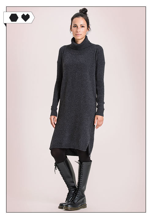 Re-Bello Pulloverkleid sloris-re-bello-addison-knit-pulloverkleid-grau-recycelte-wolle-kaschmir-big