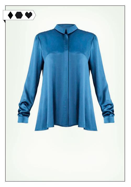 Jan n June Bluse sloris-jan-n-june-portia-petrol-loveco-bluse-fairfashion-slowfashion-blau-recyceltes-polyester-upcycling-big