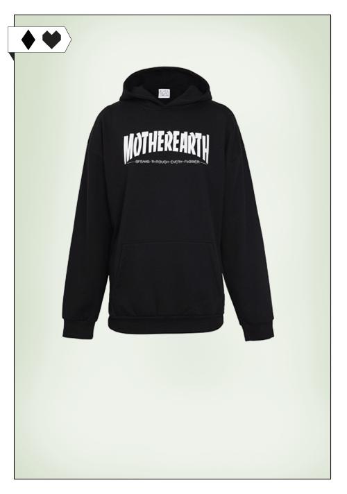 Blackvelvetcircus Motherearth Hoodie blackvelvetcircus-motherearth-hoodie-sweater-black-fair-made-in-portugal-fair-fashion-vegan