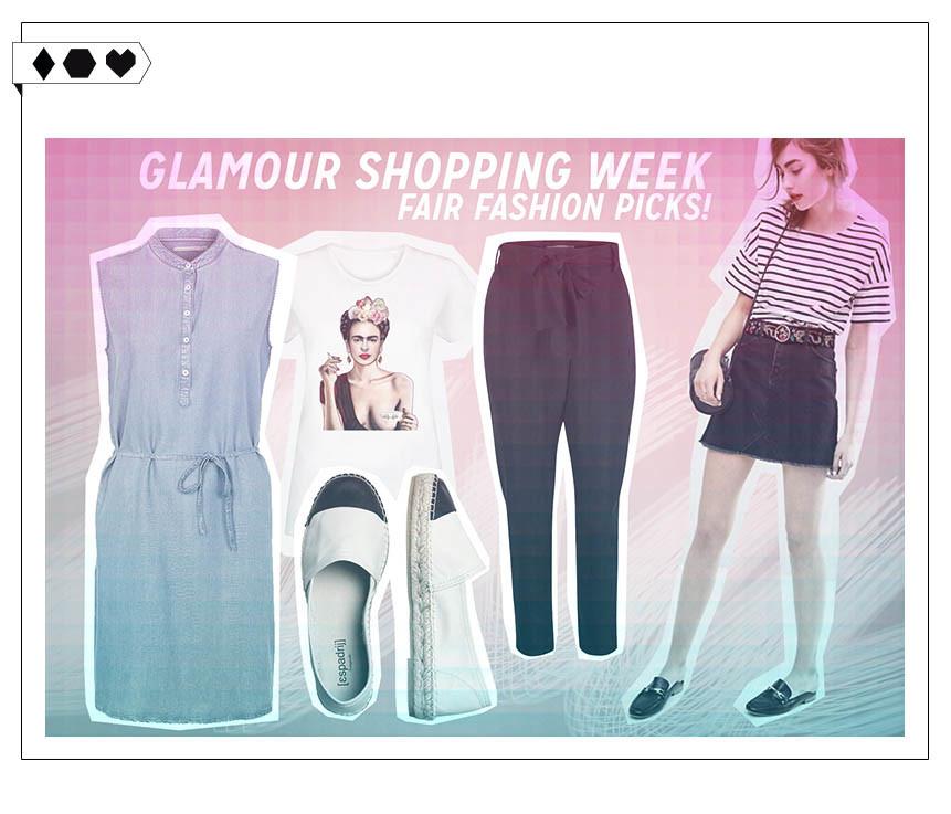 Glamour Shopping Week: Fair Fashion Picks