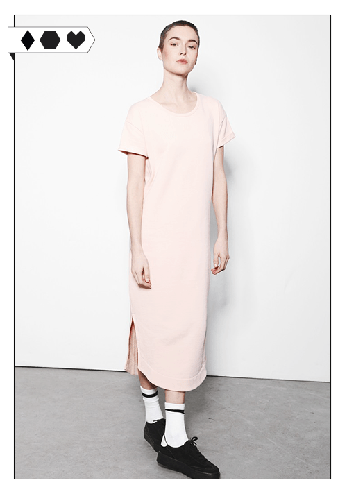 Yunit / Dress Pale Blush