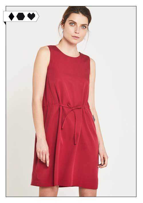 Lanius Kleid sloris-lanius-kleid-fs17-cherry-rot-dress-freizeit