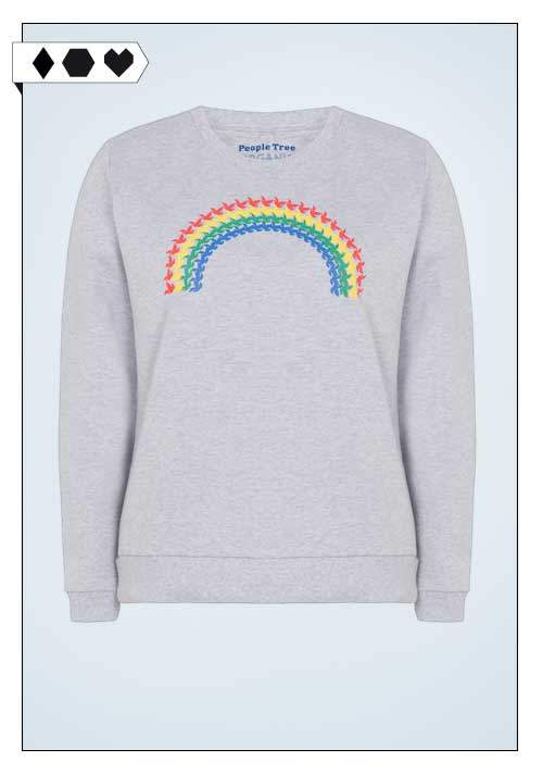 People Tree Pullover sloris-people-tree-pullover-organic-cotton-biobaumwolle-fair-eco-social-vegan-rainbow-regenbogen-tauben