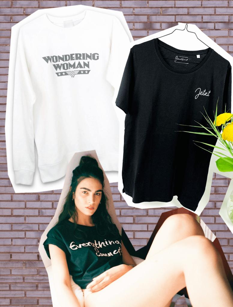 Statement-Shirts Statement-Shirts Statement Shirts Sloris Slow Fashion Blog Fair Fashion Slow Fashion Ethical Sustainable nachhaltige Mode Organic Cotton finster Hamburg jetzt fremdformat cossac