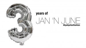 Rabattcodes Jan n June 3 Jahre Geburtstag 20 Prozent Fair Fashion Slow Fashion faire Mode sparen Code Rabatt