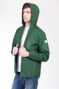 Fair Fashion Coupons Rabatt Loveco knowledge cotton apparel functional hoodjacket green Gutschein Voucher