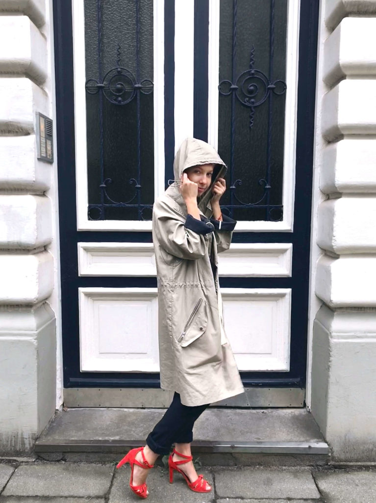 Maas Natur Fair Fashion Look Sloris Sweatshirt faire Mode nachhaltige Mode Look Herbst