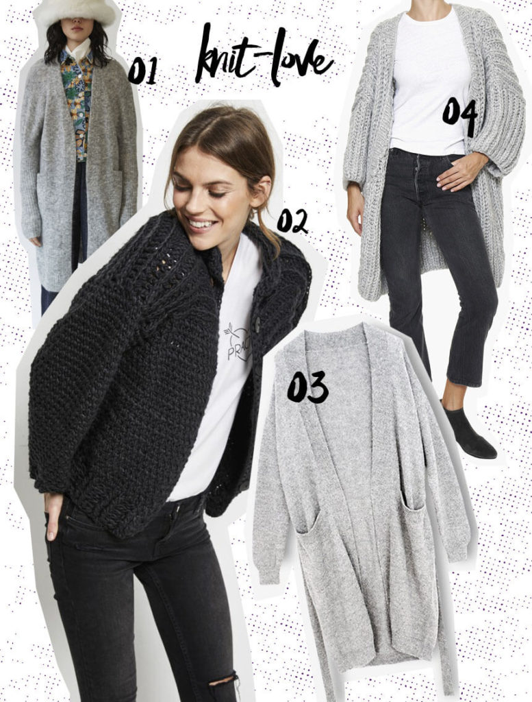 Fair Fashion Cardigans Herbst Winter 2017 Hati Hati Acne Studios Folkdays faire Mode Nachhaltigkeit Biobaumwolle Organic Cotton