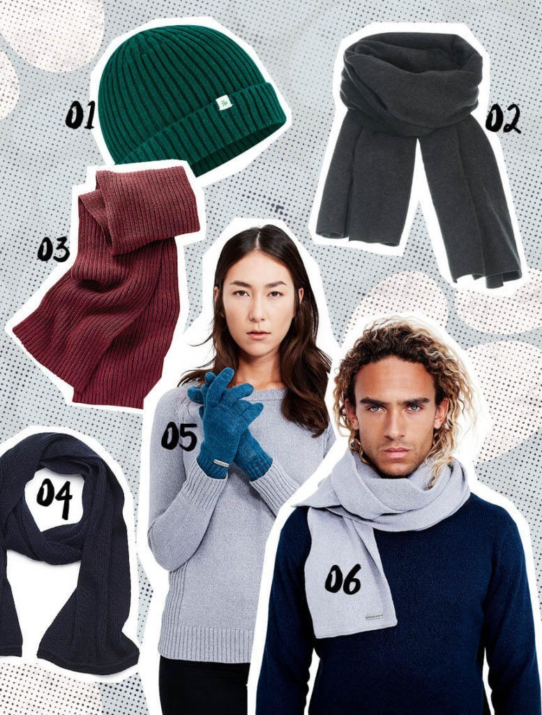Fair Fashion Winter Accessoires Schals Muetzen Handschuhe vegan eco fair slow fashion
