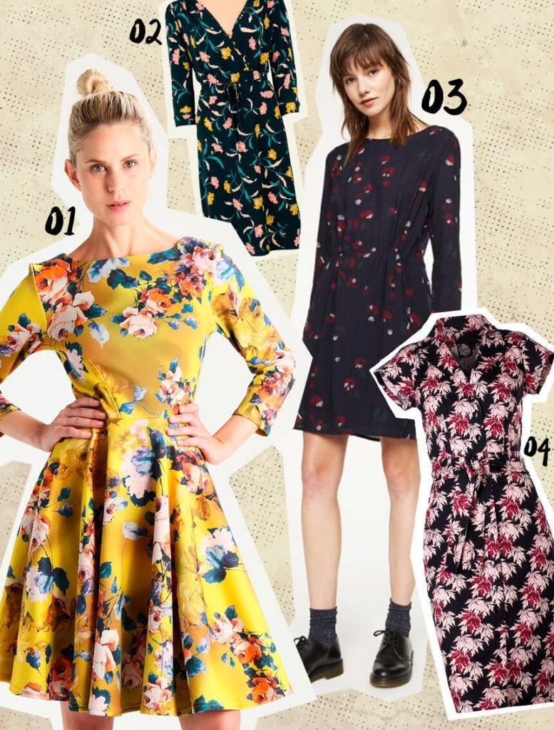 Fair Fashion Blumen-Kleider Flower Dresses Ethical Sustainable