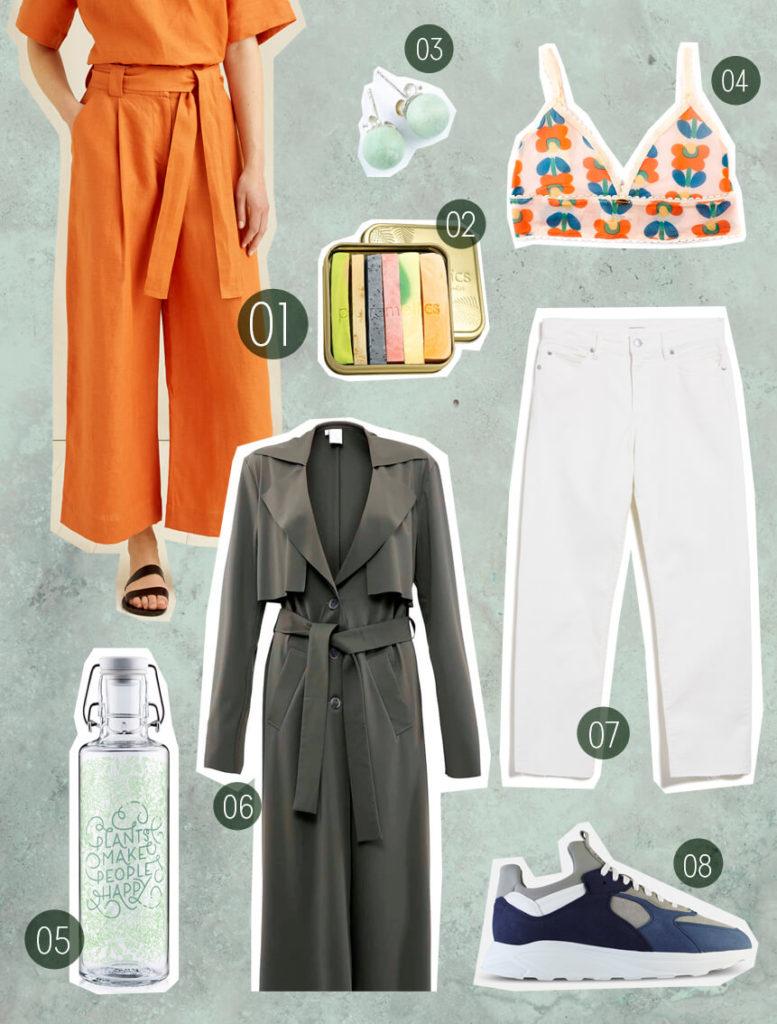 Fair Fashion Frühling –nachhaltige Mode und nachhaltig leben mit fairer Mode von People Tree, Armedangels, ekn footwear