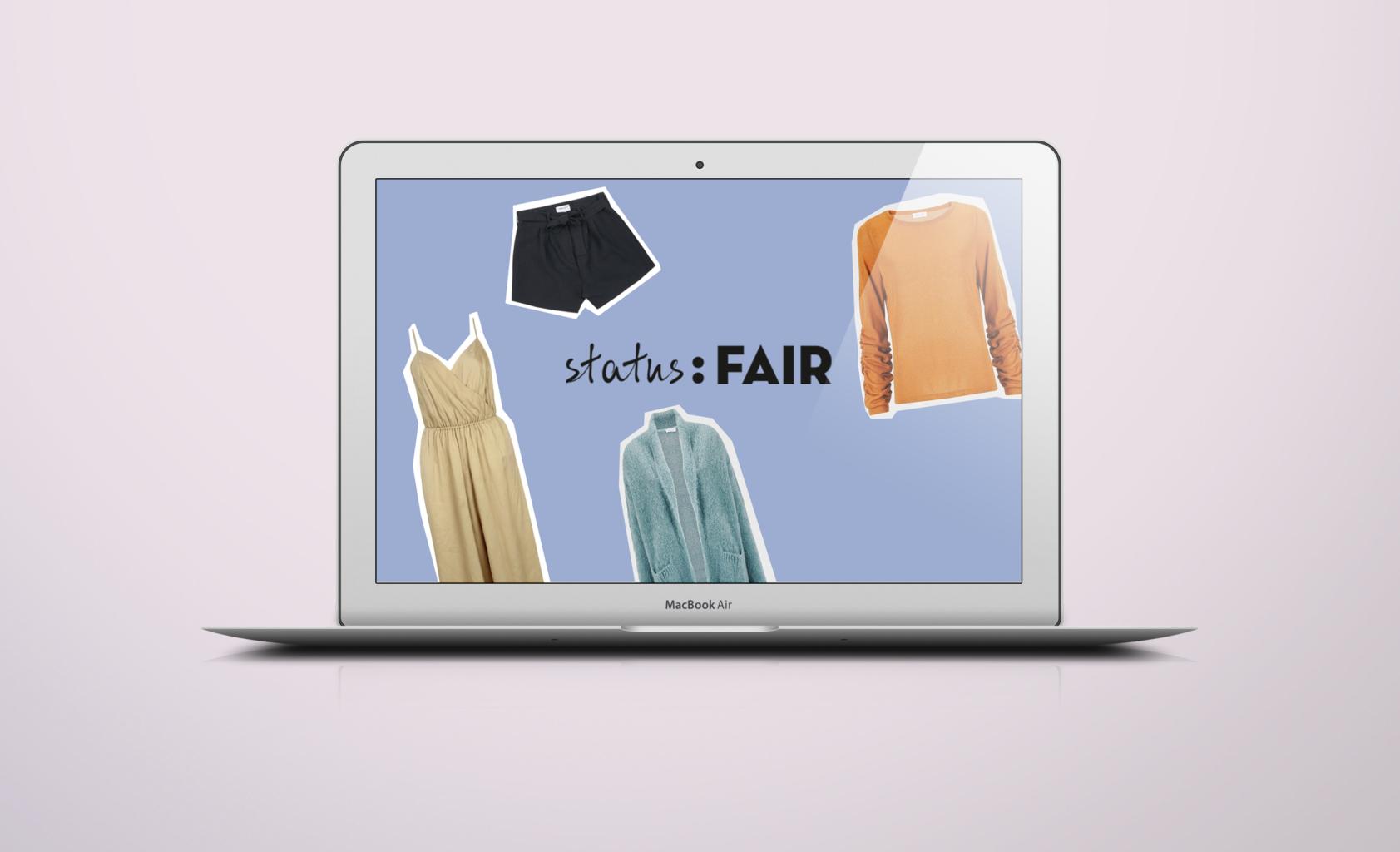 status fair online store fair fashion nachhaltige mode rabatt code gutschein vegan
