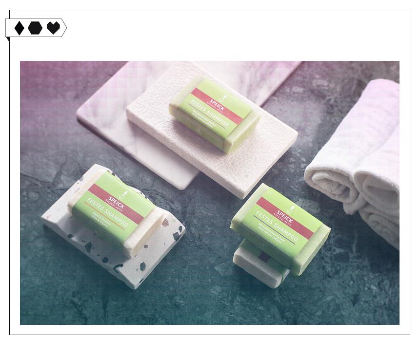 Festes Shampoo von Speick Naturkosmetik – Less Waste im Badezimmer!